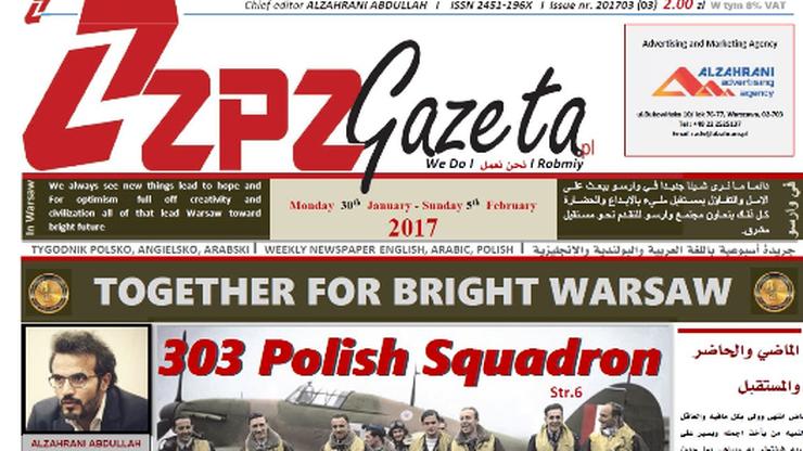 Pierwszy tygodnik polsko-arabski. Na razie w czterech kioskach
