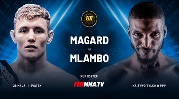 FEN 34: Mlambo pierwszym rywalem Magarda w obronie pasa mistrzowskiego