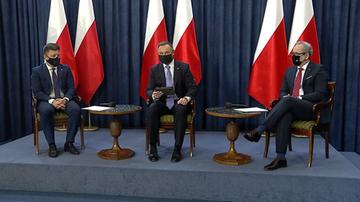 Prezydent wyjaśnił, dlaczego Polska nie otrzymała szczepionki od USA