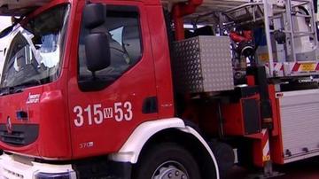Pożar w budynku wielorodzinnym w Starachowicach. Ewakuowano 25 osób