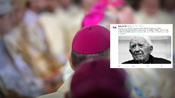Zmarł najstarszy biskup na świecie. Miał koronawirusa