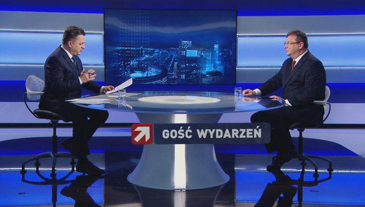 Minister Wójcik o unijnym komisarzu: ma problemy z wychowaniem