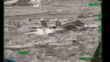 Belgijskie F16 przechwyciły nad Bałtykiem rosyjskie myśliwce Su-27