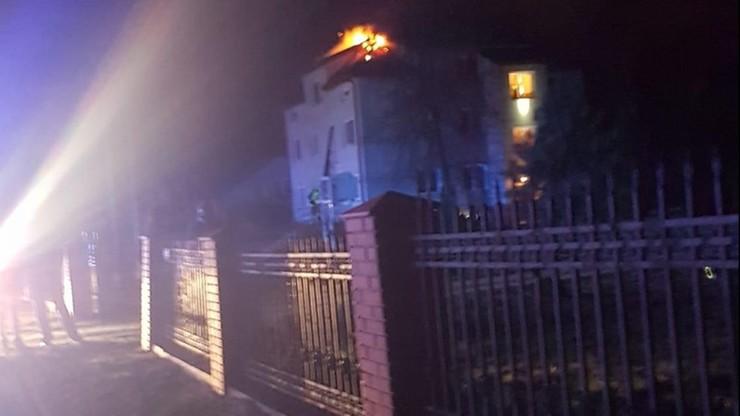 Tragiczny pożar pod Siedlcami. Nie żyją trzy osoby, w tym dwoje dzieci