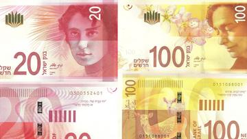 Ortodoksyjni Żydzi zamazują wizerunki kobiet na nowych banknotach