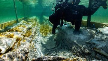 Archeolodzy znaleźli łódź sprzed 4 tys. lat. Nie jest jasne, skąd się tam wzięła