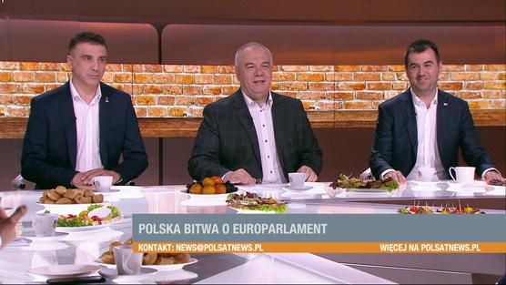 Śniadanie w Polsat News - 28.04.2019