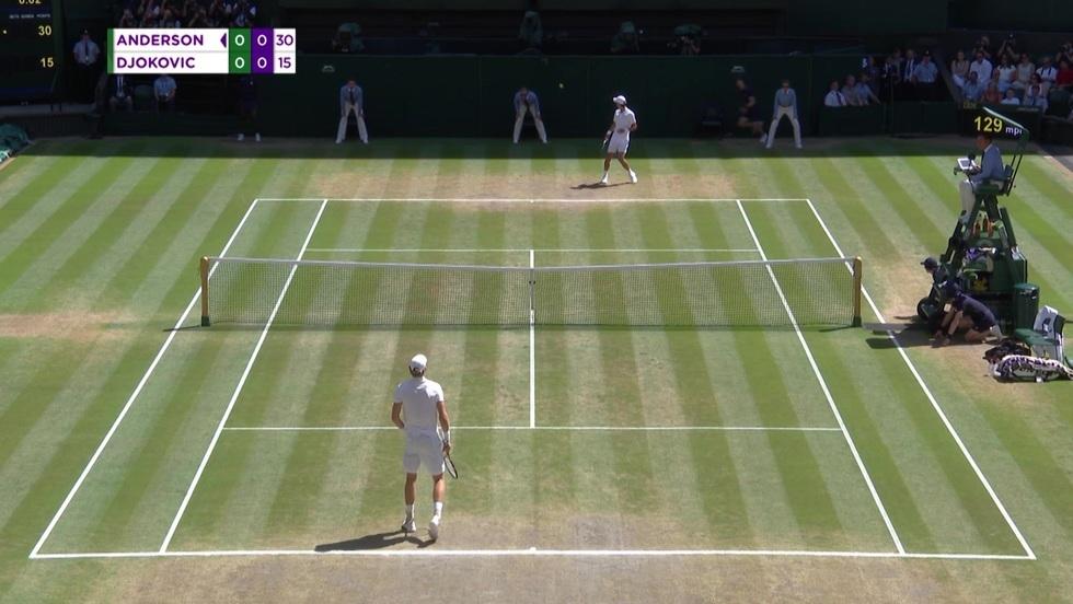 Kevin Anderson - Novak Djokovic