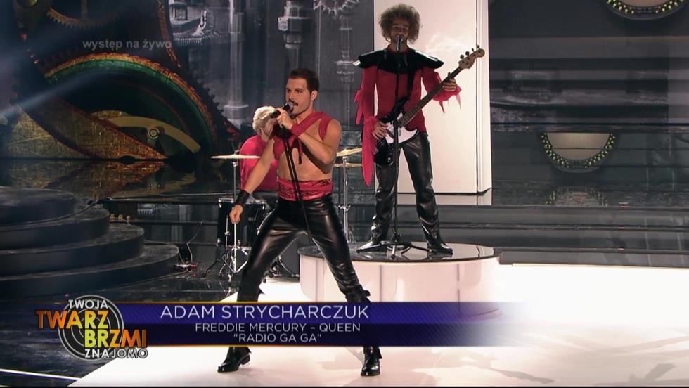 Adam Strycharczuk jako lider Queen!