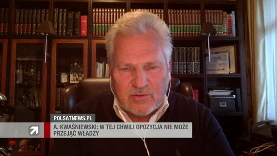 Gość Wydarzeń - Aleksander Kwaśniewski