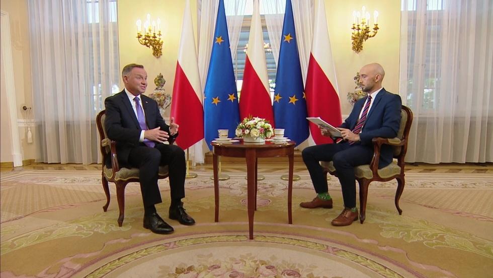 Gość Wydarzeń - Prezydent Andrzej Duda
