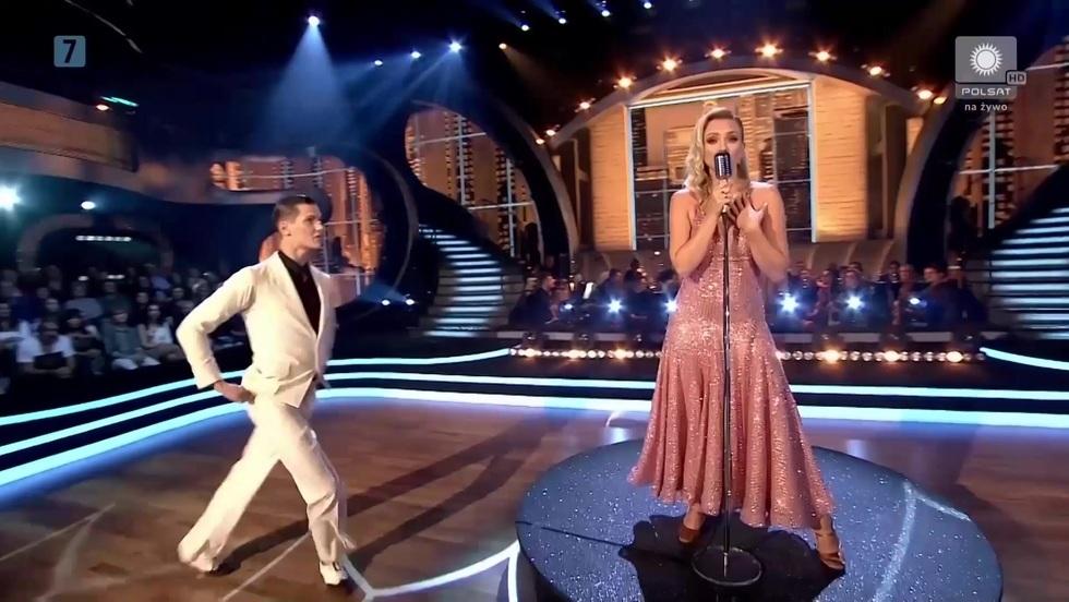 Basia Kurdej-Szatan świetnie śpiewa, a do tego świetnie.. tańczy!