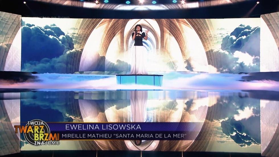 Piosenka francuska. Ewelina Lisowska jako Mireille Mathieu